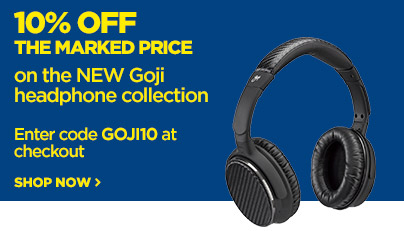 Save 10% off the marked price on the NEW Goji collection