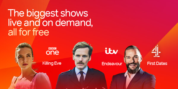 The biggest shows live and on demand, all for free