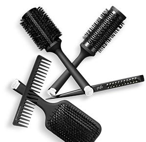 GHD hair brushes