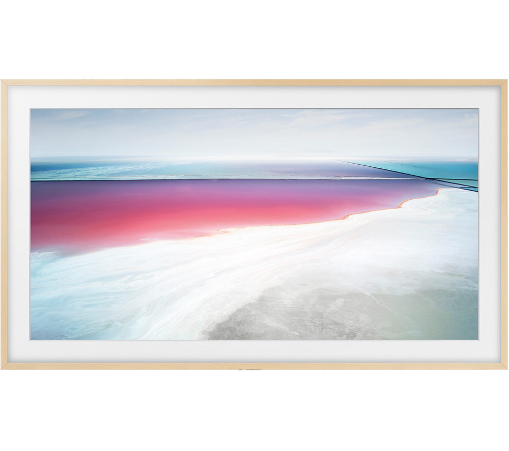 Compare prices for Samsung Customisable Frame Bezel Beige Wood