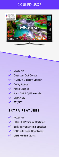 4k ULED U8QF TV