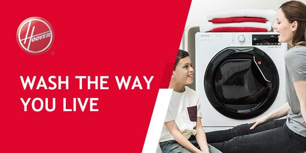 Hoover laundry hero image