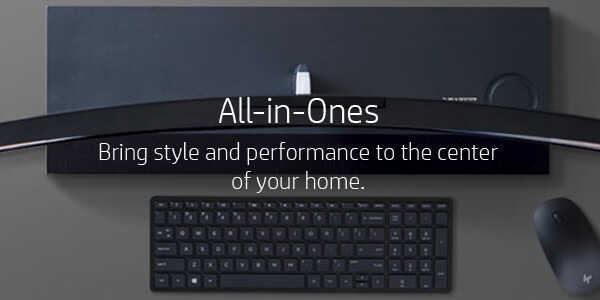All-in-Ones - Bring style and performance to the center of your home