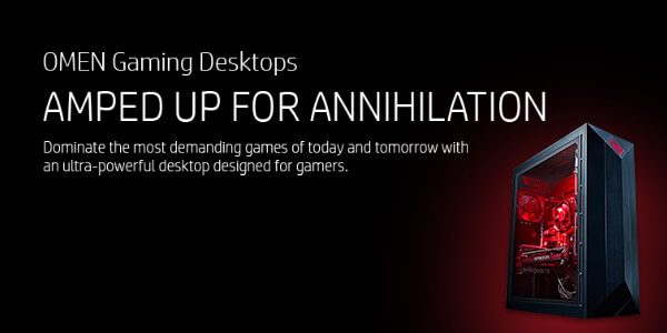 HP OMEN Gaming Desktops