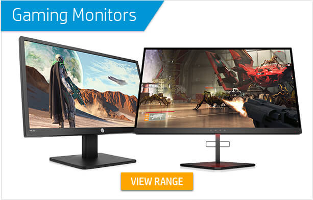 Gaming Monitors - View Range