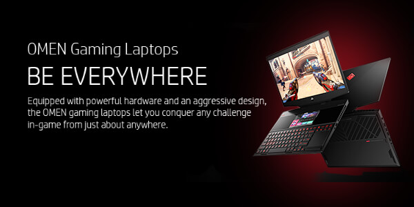 HP OMEN Gaming Laptops - Be Everywhere