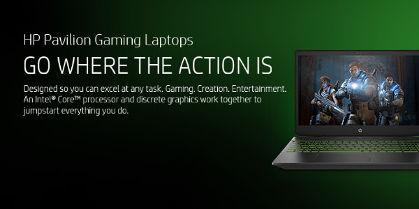 HP Pavilion Gaming Laptops - Go where the action is