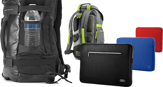 HP Backpacks, laptop bags and sleeves