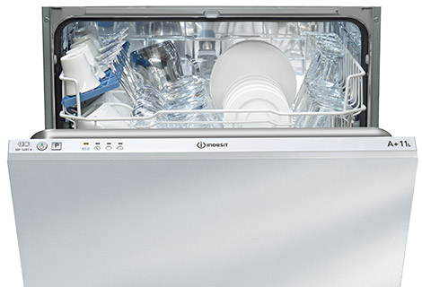 indesit integrated dishwashers