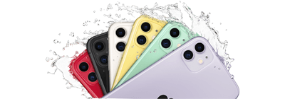 Fan image of all the colours of Iphone.