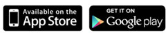 Apple app store and google play
