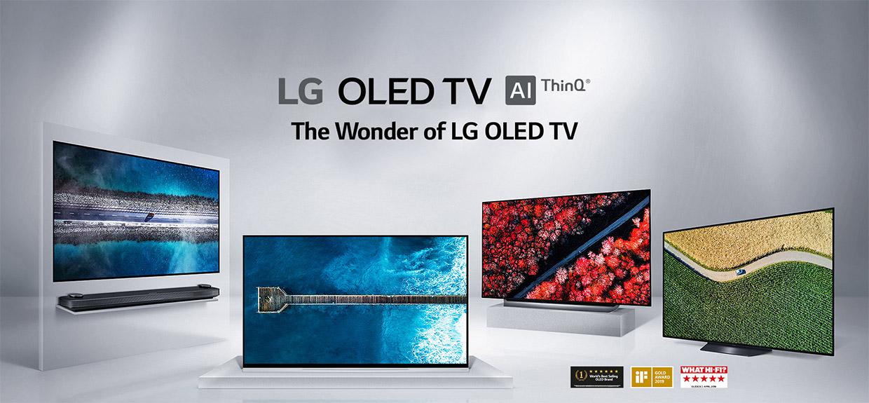 Explore the LG TV Range | Compare LG UHD, 4K & Oled TVs