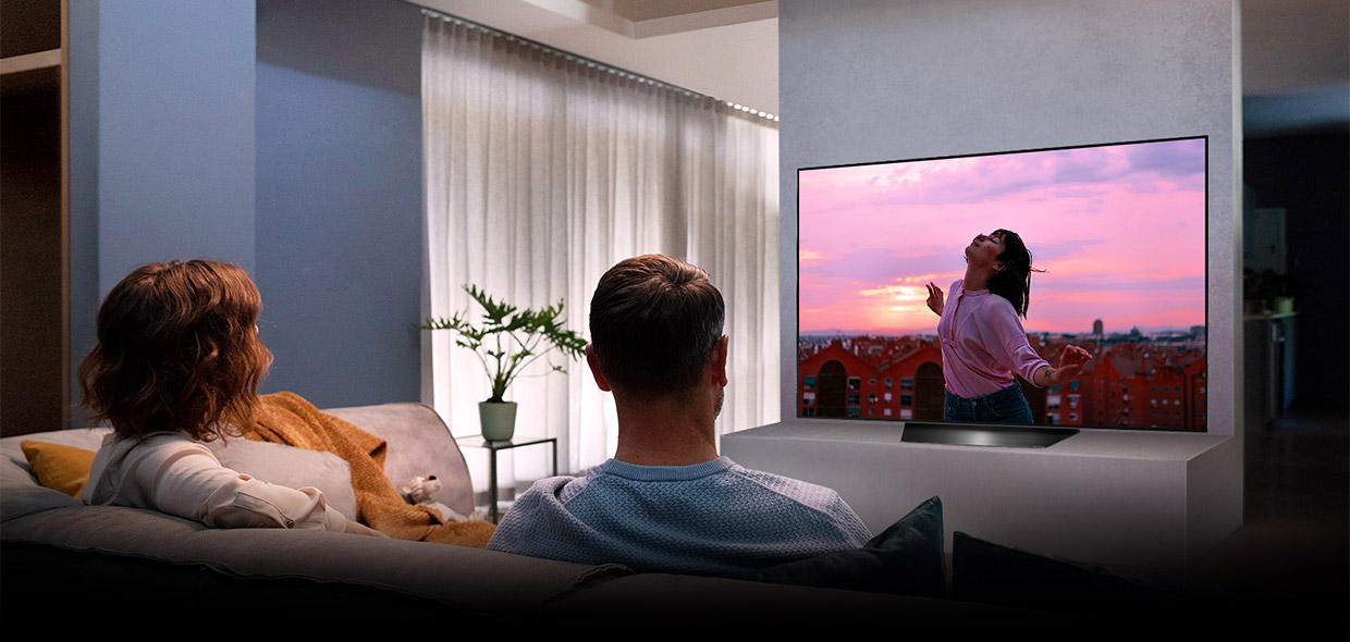 LG true cinema experience