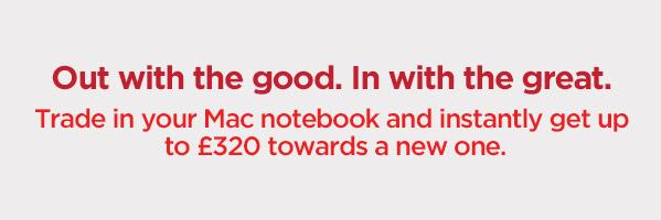 Trade in your MacBook