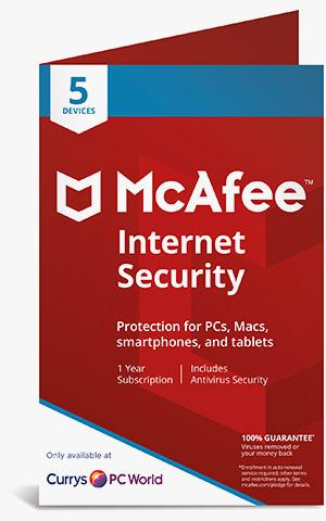 McAfee LiveSafe Internet Security | Currys