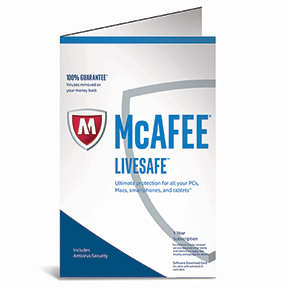 McAfee LiveSafe Internet Security | Currys PC World