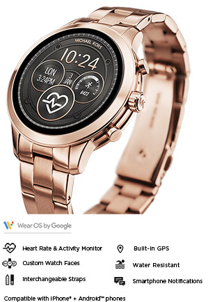50989e5c5722 Michael Kors Smart Watches