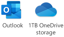 Microsoft Outlook and OneDrive