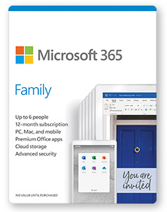 Microsoft 365 Family Plan