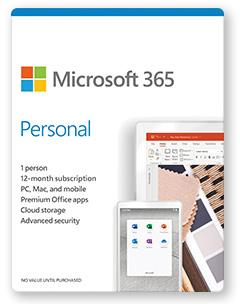 Microsoft 365 Personal Plan