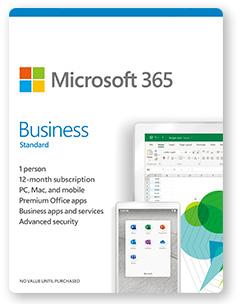 Microsoft 365 business standard Plan