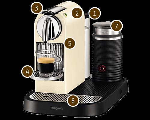 Nespresso CitiZ and CitiZ & milk Coffee Makers Currys
