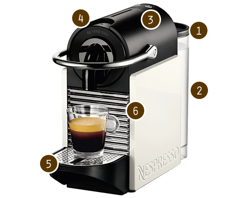 nespresso pixie coffee maker currys. Black Bedroom Furniture Sets. Home Design Ideas