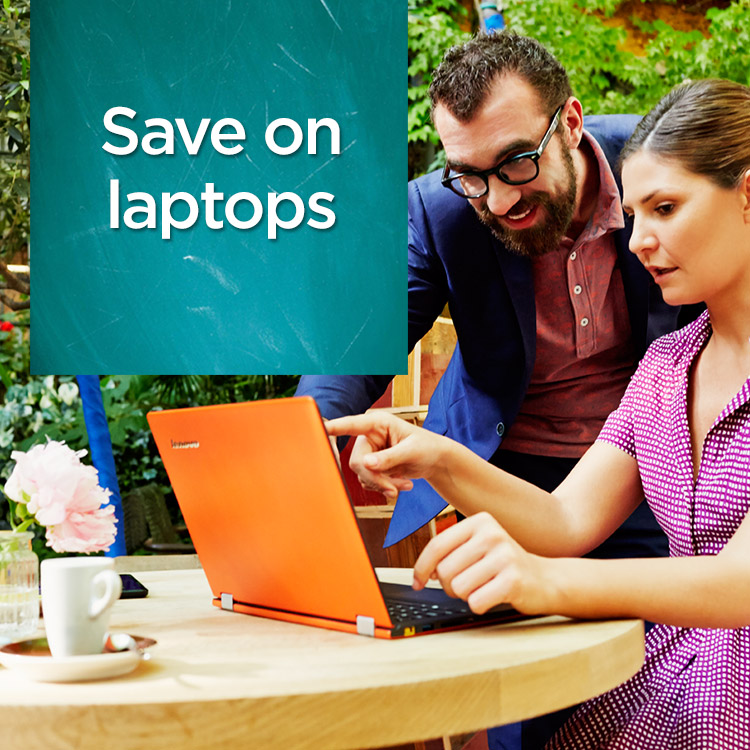 Save on laptops