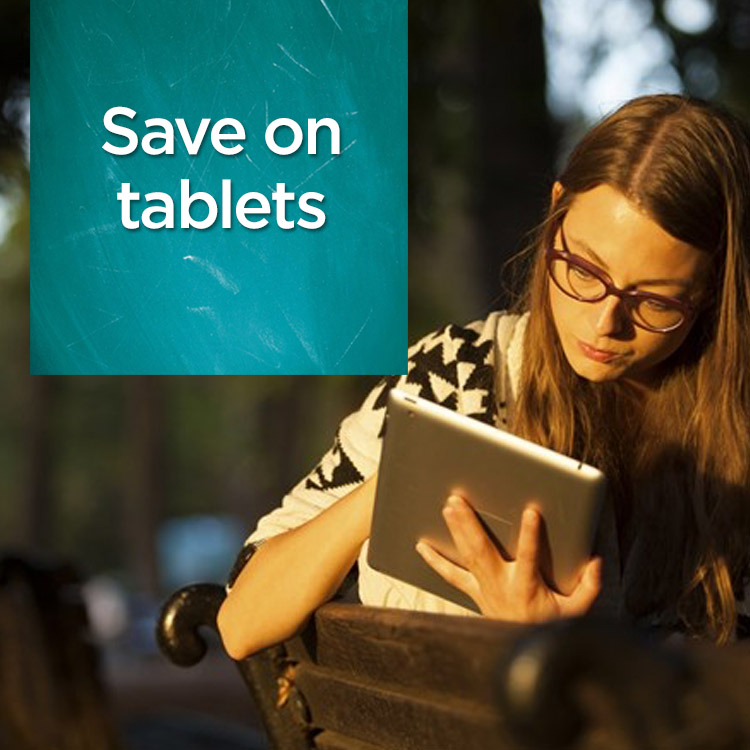 Save on tablets
