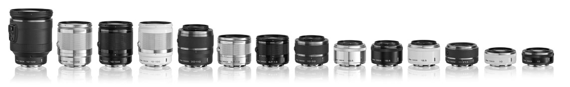 Nikon Compact System Lenses