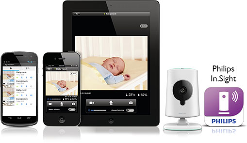 View Insight Wireless HD Baby Monitor