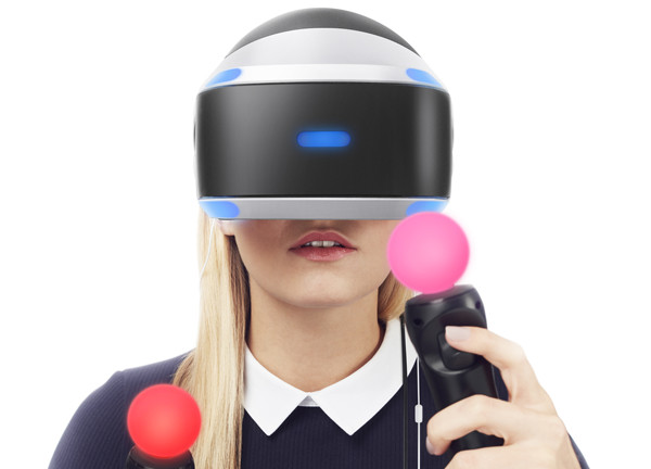 Virtual Reality Playstation tracking and control