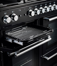 deluxe glide-out grills feature