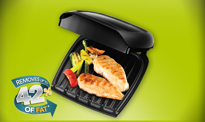 george foreman 2portion compact grill