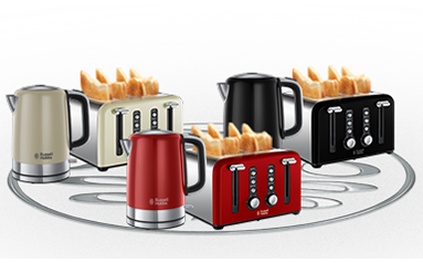 Rus Hobbs Windsor Collection The Kettle And Toaster