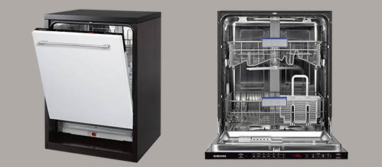 Samsung DW-BG582B Integrated Dishwasher