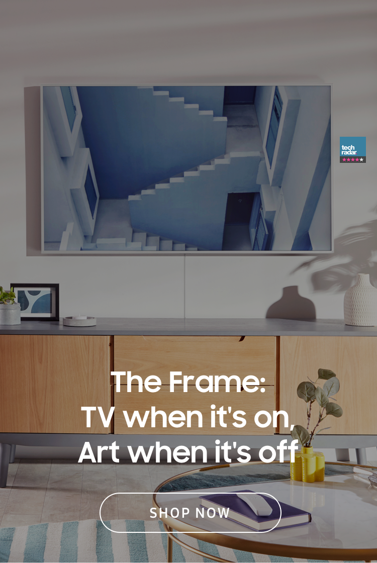 The Frame: TV when it's on, Art when it's off