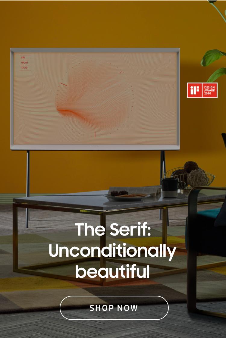 The Serif: Unconditionally beautiful