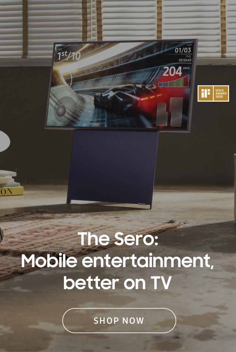 The Sero: Mobile entertainment better on TV
