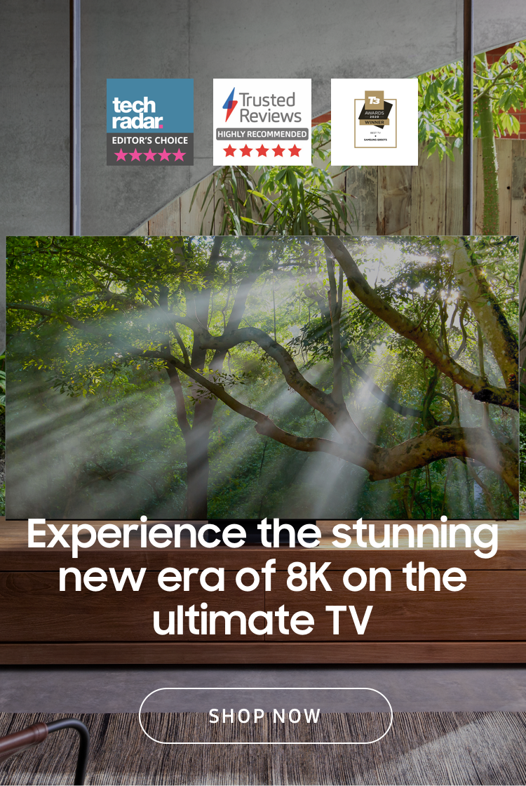 Experience the stunning new era of 8K on the ultimate TV