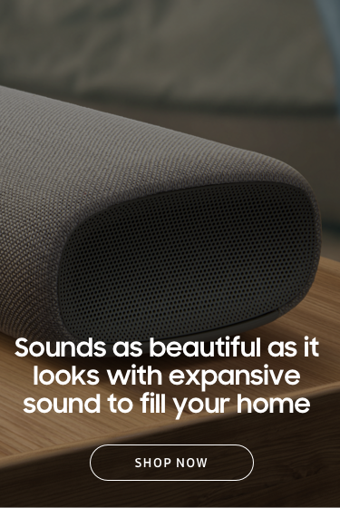 Sounds as beautiful as it looks with expansive sound to fill your home
