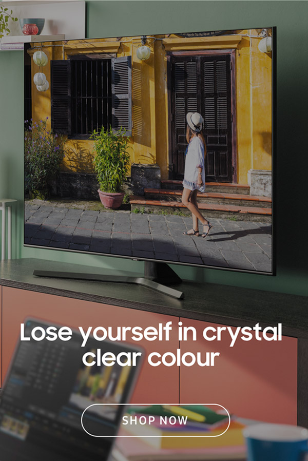 Lose yourself in crystal clear colour