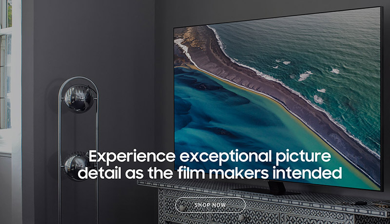 Experience exceptional picture detail as the film makers intended