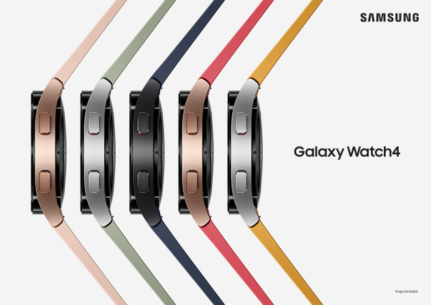 samsung watch4 colours