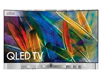 Q8CAMT Curved QLED TV