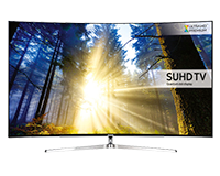 Samsung KS9000 Curved SUHD Quantum dot TV