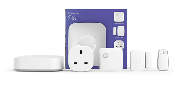 Samsung SmartThings starter pack