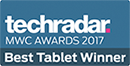 Techradar Best Tablet Winner Award