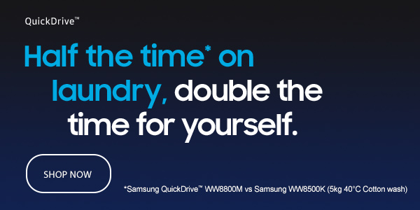 Samsung QuickDrive Washing Machines