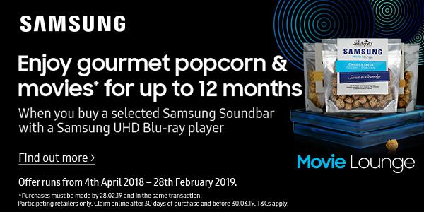 Samsung movie lounge